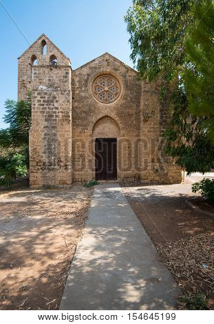 Church of St. George the Exiler or Nestorian Church situated in the North West corner of Famagusta town in Cyprus