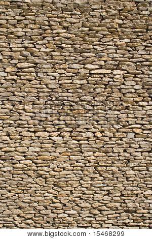 Wand aus Steinen