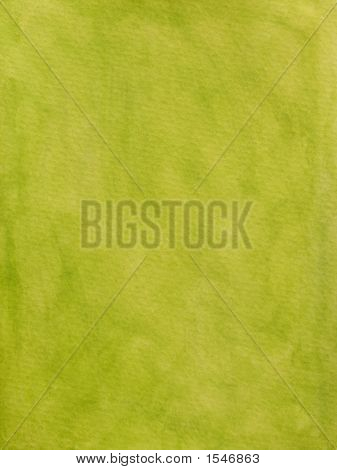 Bright Green Painted Background