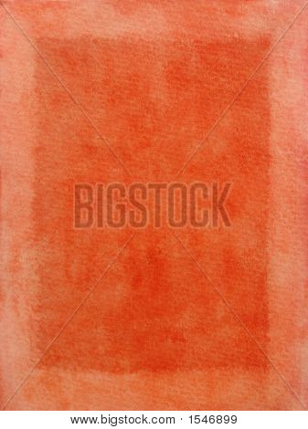Red Frame On A Textured Paper