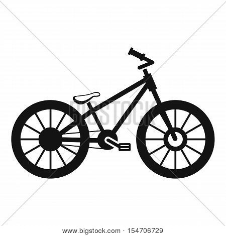 Bike icon. Simple illustration of bike vector icon for web