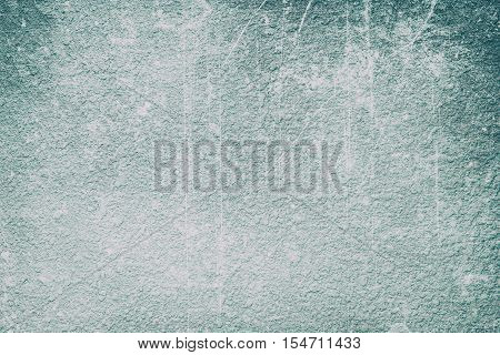 abstract old Blue grunge cement wall textured background