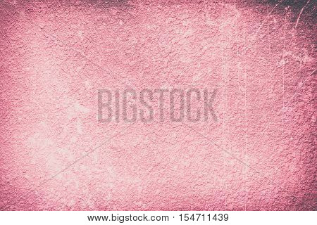 abstract old red grunge cement wall textured background