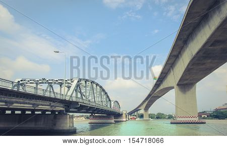 The Bridge Is Made Of Steel Stabilizer