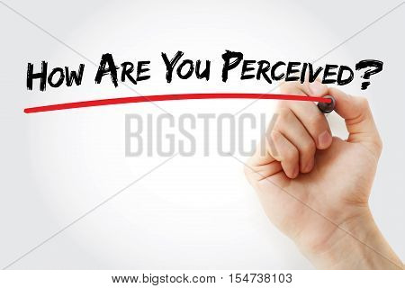 Hand Writing How Are You Perceived?