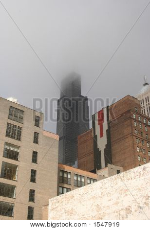 Sears Tower In Snow Storm