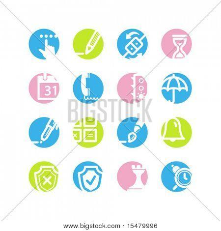 spring circle software icons