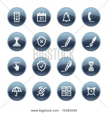 Mineral drop software icons