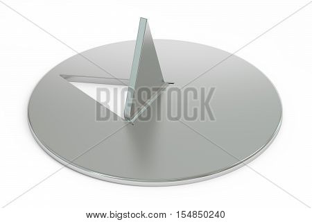 drawing pin or thumbtack 3D rendering isolated on white background