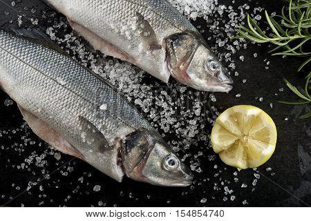 Seabass And Lemon