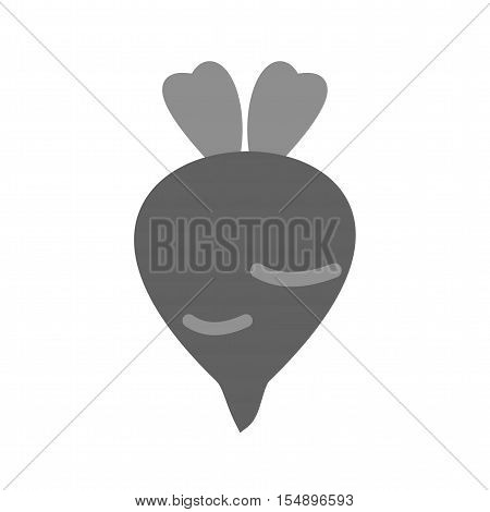 Beet, food, beetroot icon vector image. Can also be used for farm. Suitable for mobile apps, web apps and print media.