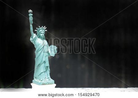The Statue Of Liberty, Statue Of Liberty, Liberty Statue, American Symbol, New York, Usa, Doll And F