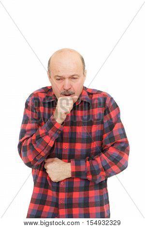 Suffering From Flu Virus.