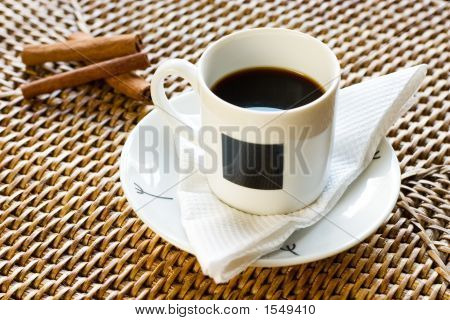 Cup Of Coffee And Cinnamon 2