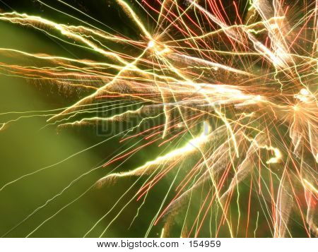 Fireworks Close Up