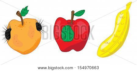 genetically modified food public health concern concept vector illustration