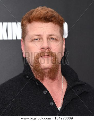 LOS ANGELES - OCT 23:  Michael Cudlitz arrives to the Special taping of