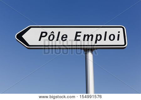 Pole emploi panel. Pole emploi is a French governmental agency which registers unemployed people, helps them find jobs and provides them with financial aid