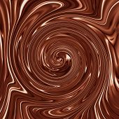 Smooth Creamy Delicious Chocolate Swirl