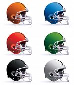 stock photo of football helmet  - Football Helmets - JPG