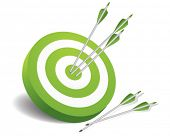 stock photo of archer  - Target - JPG