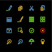 neon publish icons