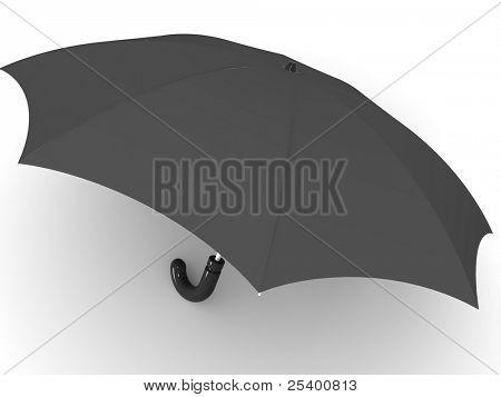 Umbrella. 3d