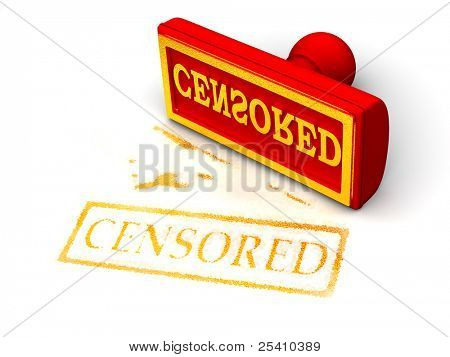 Stamp censored. 3d