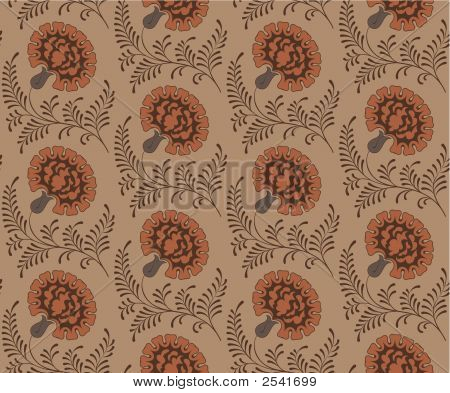 Seamless Pattern With Grenadines