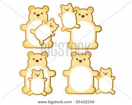 Teddy bear with mom