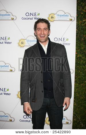 "LOS ANGELES - NOV 19:  Matthew Morrison arrives at ""An Evening with Leona Lewis and Friends"" at Private Home on November 19, 2011 in West Hollywood, CA"