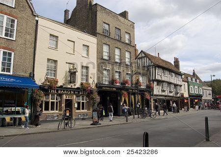 Bridge Street pubs, Cambridge