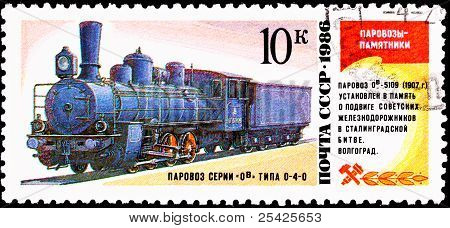 Russian Ov-5109 Steam Locomotive