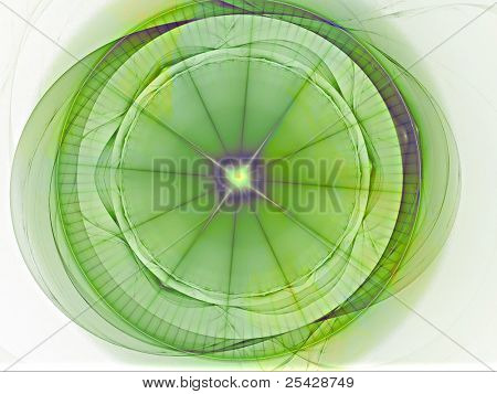 Abstract Futuristic Circular Texture