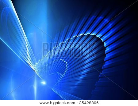 Abstract blue futuristic background texture
