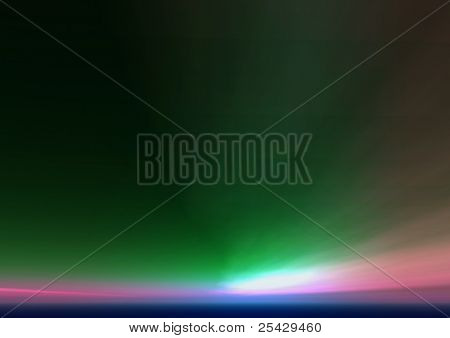 aurora color background texture