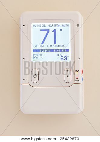 Modern Electronic Thermostat