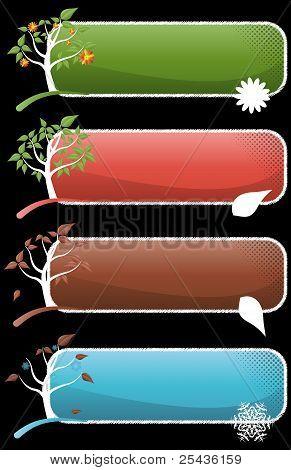 Set Tree Season Banner