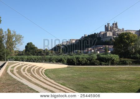 Amphitheater In Beziers, France