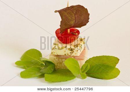 Schinken-Käse-Minibaguette