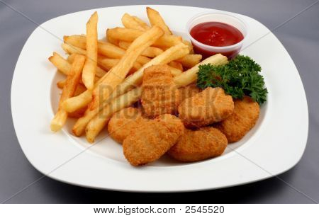 Nuggets And Fries Combo