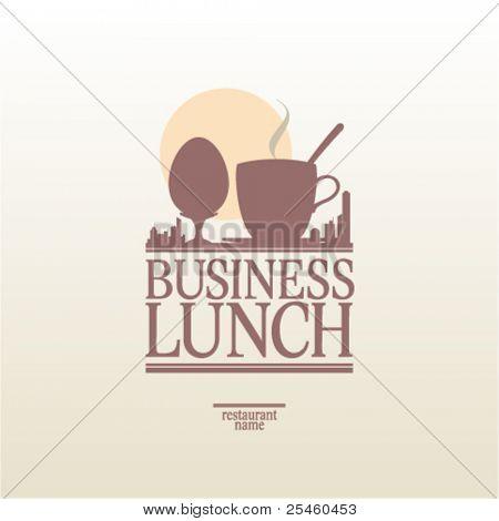 Business Lunch Menu Card Design template.