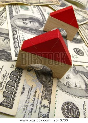Toy House And Dollar