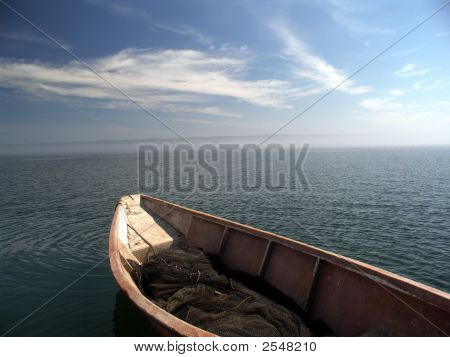 Boat,Water And Sky