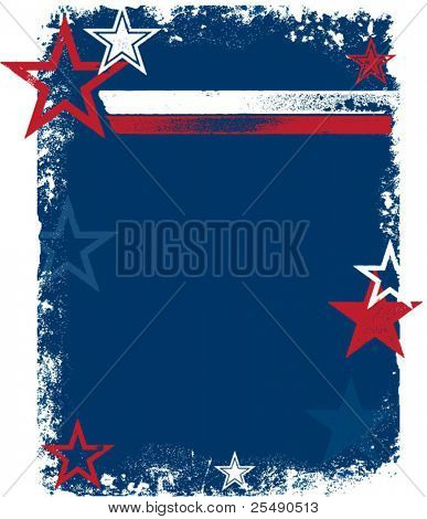 Patriotic USA Stars & Stripes Background
