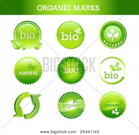 Collection of Organic Marks and Stamps