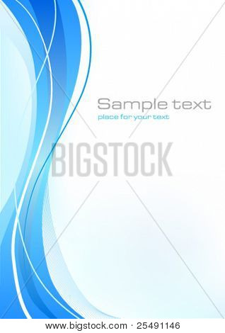 Blue Background Template
