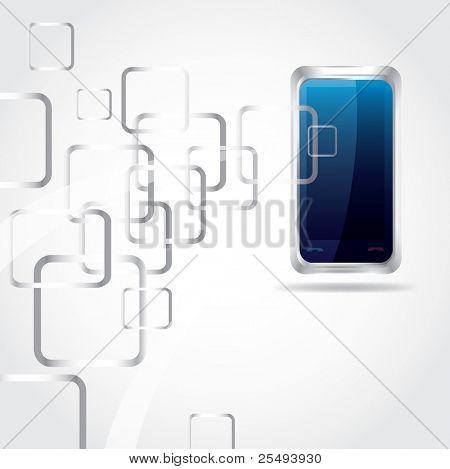 Vector network touchscreen phone