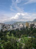 Vista del retrato de Quito