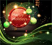 image of happy holidays  - Happy Holidays Background - JPG